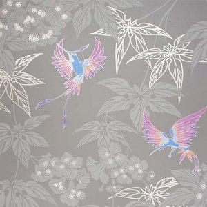 輸入壁紙<b>【WALLPAPER ALBUM 7】</b>OSBORNE&LITTLE 英国「Grove Garden」(52cm巾×10m巻)