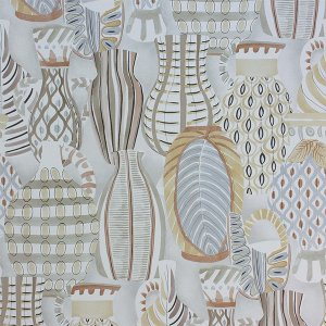輸入壁紙<b>【LES R&#202;VES WALLPAPERS】</b>Nina Campbell 英国「Collioure」(52cm巾×10m巻)
