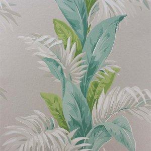 輸入壁紙<b>【COROMANDEL WALLPAPERS】</b>Nina Campbell 英国「Palmetto」(52cm巾×10m巻)