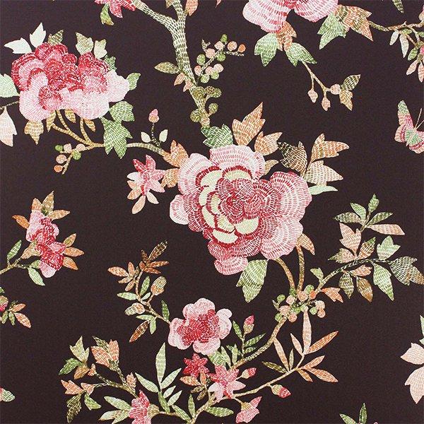 輸入壁紙 【COROMANDEL WALLPAPERS】 Nina Campbell 英国「Perdana」(52cm巾×10m巻)