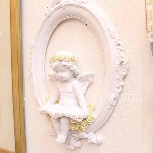 【入荷未定】 エンジェル・壁掛けパネル(H26.3cm)