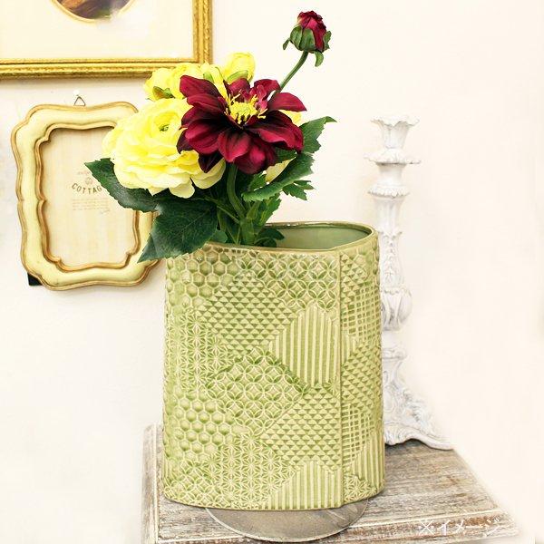 【入荷未定】 【フラワーベース】花器「AYANA-アヤナ」(L21×H25cm)