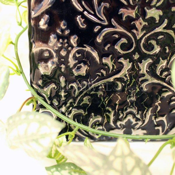 【入荷未定】 【フラワーベース】花器「precieux-プレシュー」(H21cm)ブラック