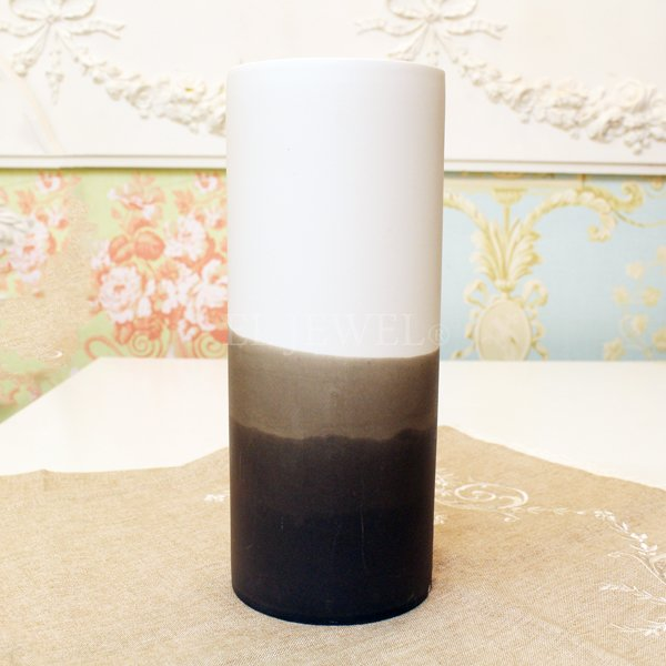 【即納可!】 【フラワーベース】花器「Dip-ディップ」(H23cm)マットグレー