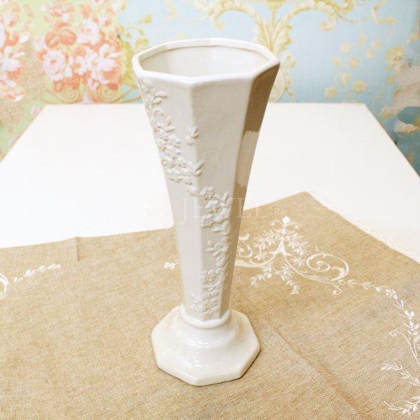 【入荷未定】 【フラワーベース】花器「FLOWER LINE II-フラワーライン」(H25cm)ホワイト