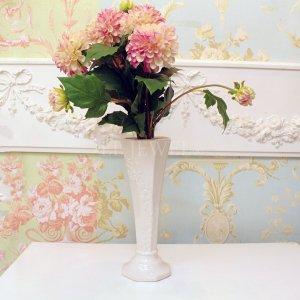 【入荷未定】【フラワーベース】花器「FLOWER LINE II-フラワーライン」(H25cm)ホワイト