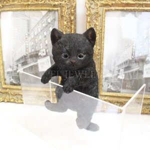 <b>【即納可!】</b>アニマルオブジェ・ハンギングベビーキャット・黒猫<img class='new_mark_img2' src='https://img.shop-pro.jp/img/new/icons1.gif' style='border:none;display:inline;margin:0px;padding:0px;width:auto;' />