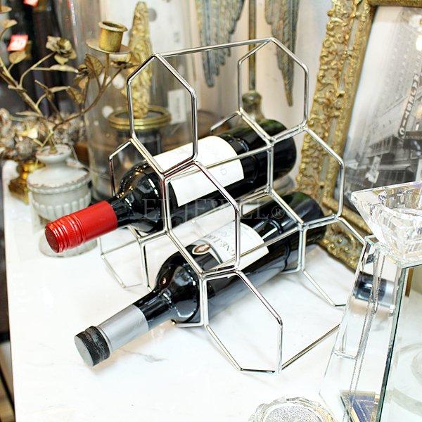 【即納可!】 【フランス-Aulica-】ワインホルダーラック(H27×W28cm)