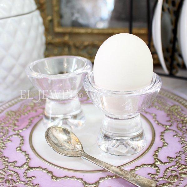 【即納可!】【フランス-Aulica-】アクリル製エッグカップ