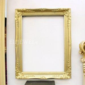 【即納可!】ロココ調ゴールドフレーム・L(W38×H48cm)