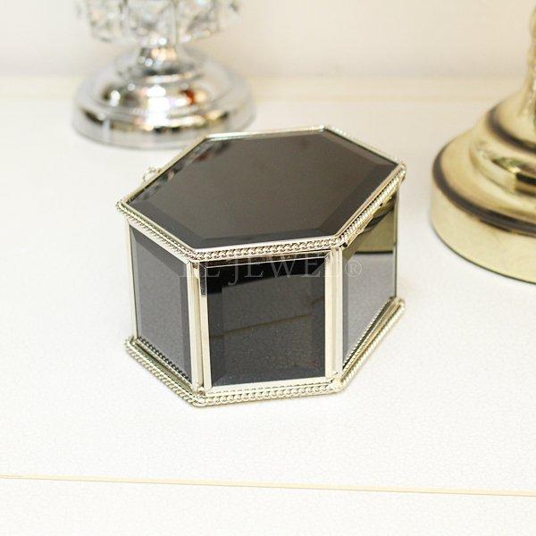 【即納可!】ミラージュエリーBOX・S(W14.5cm)ブラック