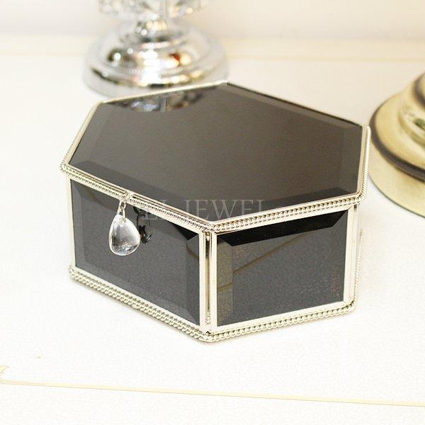【即納可!】ミラージュエリーBOX・L(W18.8)ブラック