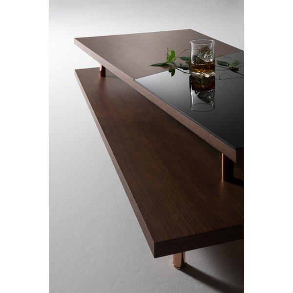 国産・高級家具【シロッコ】センターテーブル(W120×D55×H34cm)