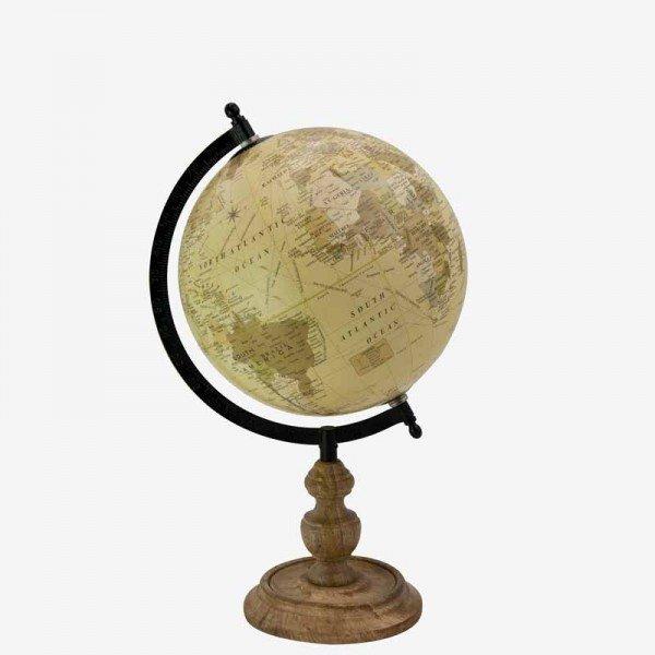 【即納可!】【Q&Q-スペイン】インテリアアイテム・地球儀(37.5cm)