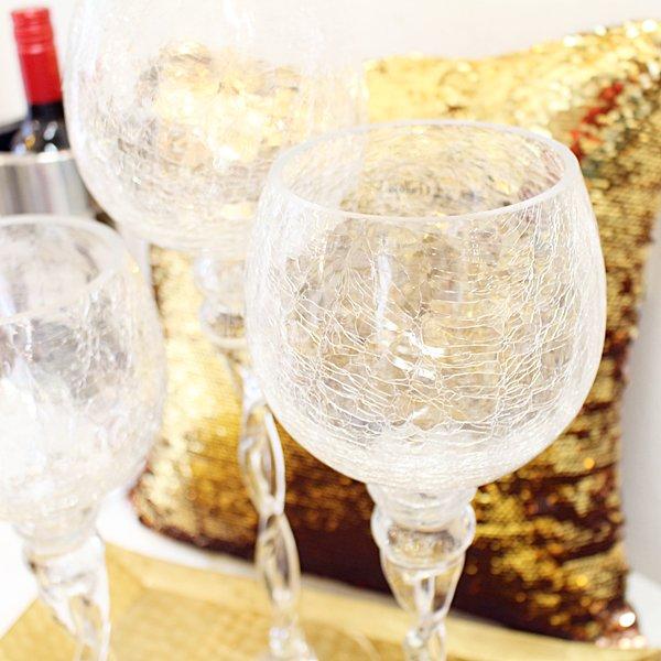 【即納可!】【フランス-Aulica-】グラス3セット(H35〜H30cm)