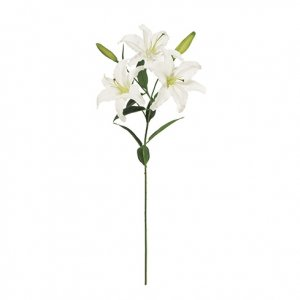 【Art silk flower】フローラカサブランカ3輪