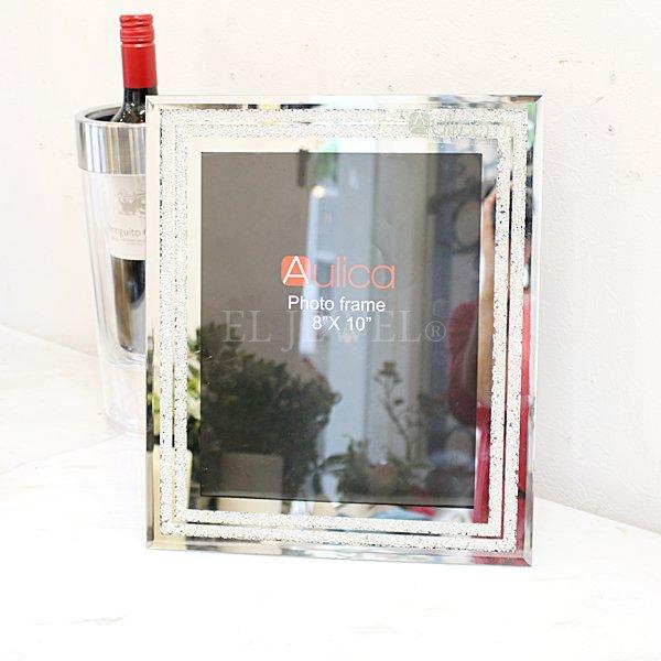 【入荷未定】【フランス-Aulica-】キラキラ☆フォトフレーム(20×25cm)