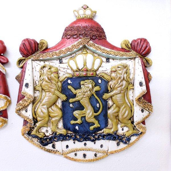 【即納可!】【Dutch Style-オランダ】ウォールデコレーション・紋章A