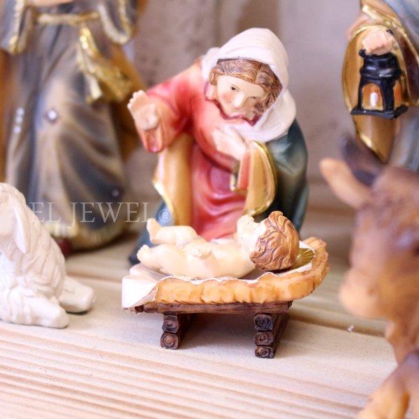 【即納可!】キリスト生誕セット(プレゼピオ)(W55×H30cm)