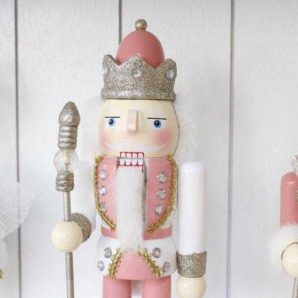 【即納可!】『KAEMINGK』パステルナッツクラッカーオブジェM・2種(H25cm)