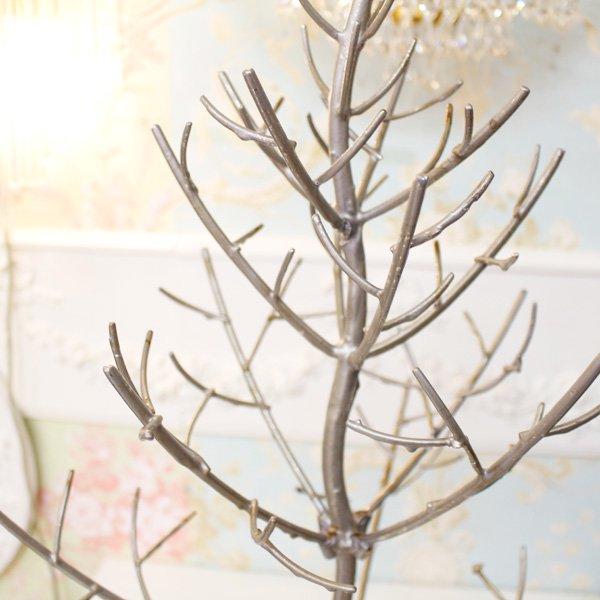 シルバートゥイッグクリスマスツリー(H63cm)