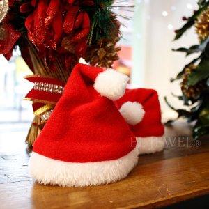 【即納可!】クリスマス☆サンタキャップ・ミニ(H15cm)