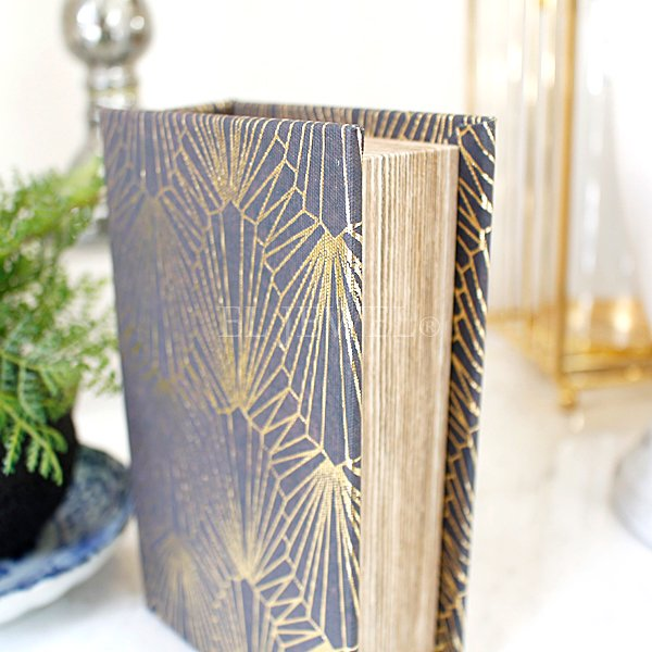 【即納可!】ブックボックス・ブラックS(11×17×5cm)