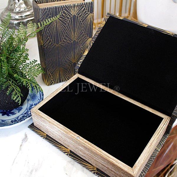 【即納可!】ブックボックス・ブラックL(14.5×21×5cm)