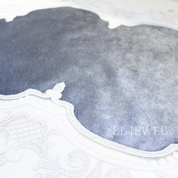 トルコ製テーブルセンター・コードレース(46×95cm)