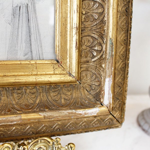 【即納可!】【限定品!1点もの】フランス製・ヴィンテージ額絵