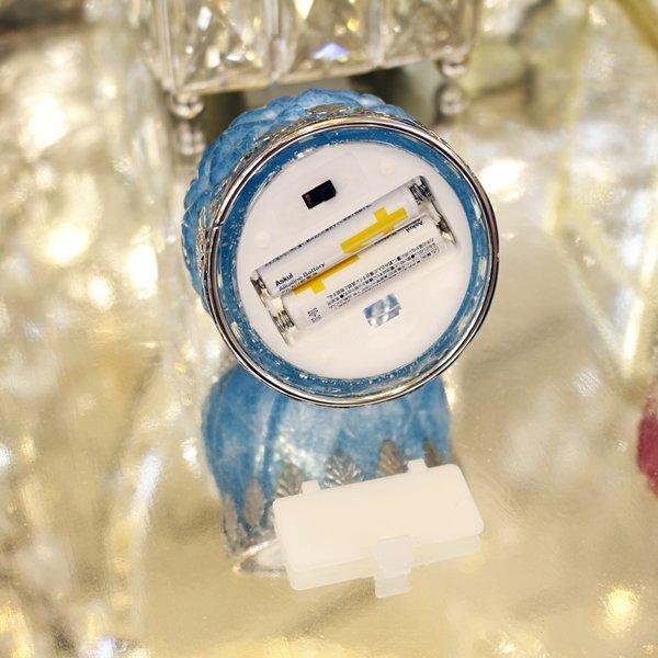 【即納可!】LEDルナーミニランタン ビビットカラー全3色(Φ8×H10.5cm)