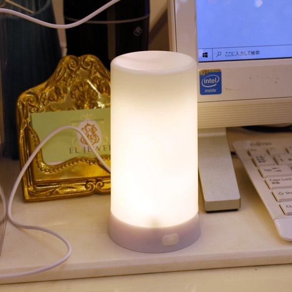 【即納可!】LEDファイヤーグロウライト(W13cm)