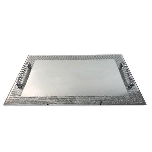 【入荷未定】【フランス-Aulica-】トレー・シルバー(L)(30×40cm)