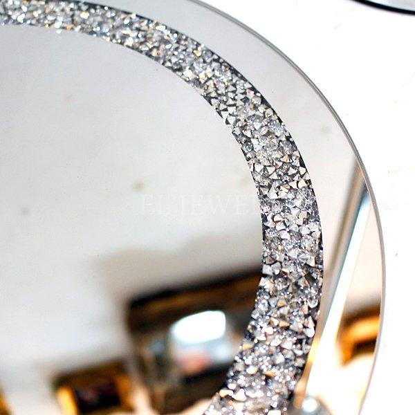 【入荷未定】【GARUDA-ベルギー】キラキラ☆ガラスプレート・ラウンド(φ30cm)