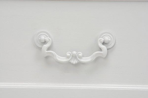 【セール!】フェミニンな白家具♪キャビネット・ホワイト(W60×D33.5×H91cm)