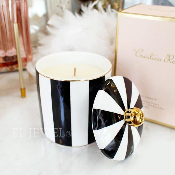 【即納可!】【オーストラリア-CRISTINA RE】アロマキャンドル「Vanilla Macaron」