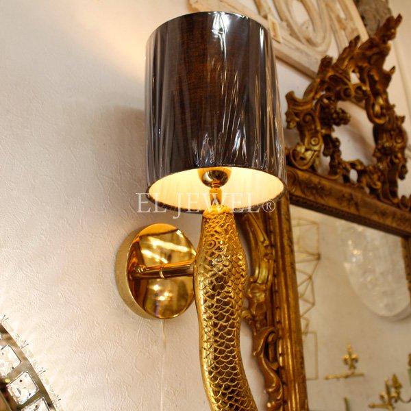 オランダ【Richmond Interiors】シェードウォールランプ「Daine」 1灯(Φ175×H845mm)