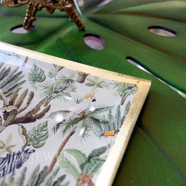 【入荷未定】【COVENT GARDEN】ジャングル・レクトプレート(W14.3cm)