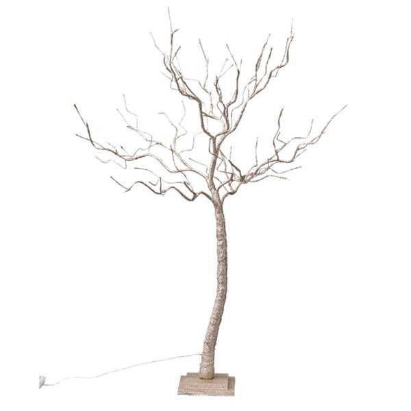 クリスマス♪LEDブランチツリー ゴールド Lサイズ(H120cm)