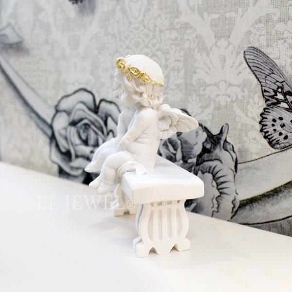 【即納可!】エンジェルオブジェ・ベンチ(H9.5cm)