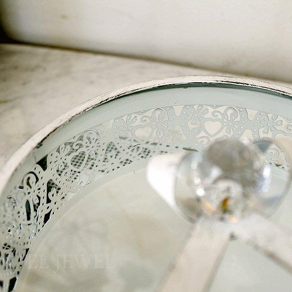 【即納可!】【Mathilde M】フランス・ジュエリーボックス(φ17.8×H10cm)