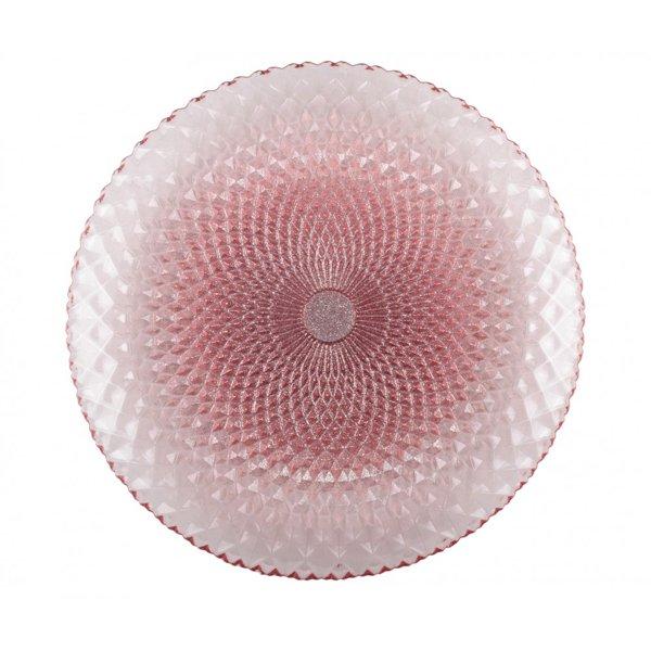 【即納可!】【フランス-Aulica-】デザートプレート・メタリックローズ(Φ28x2.5cm)