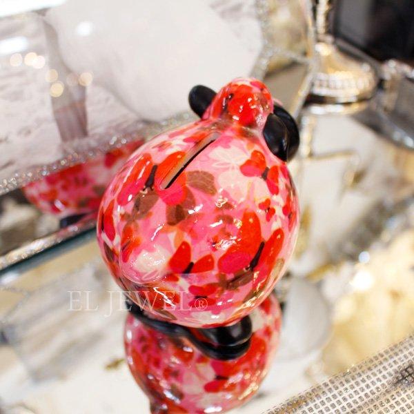 【即納可!】【Pommepidou】ベルギー・マネーバンク「GISELLE」シープ・ピンク・S(W11.2×D8.3×H9.2cm)