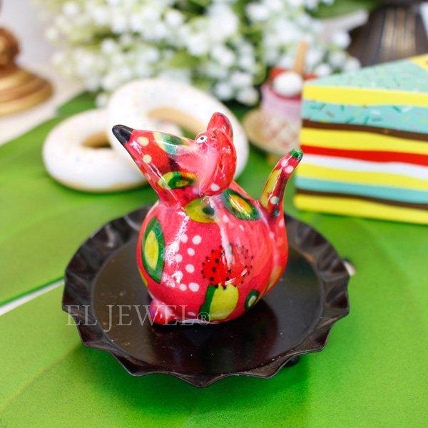 【即納可!】【Pommepidou】ベルギー・miniマウス・ピンク XS(W4×D5×H6cm)