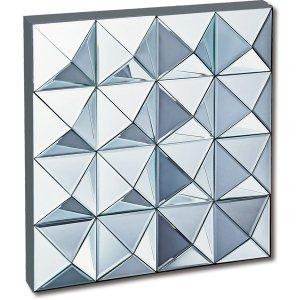 スペース ミラーアート「ピラミッド」(W61×61cm)