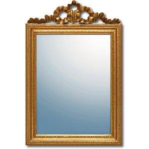グレース アート ミラー「ガリア」アンティークゴールド(W37×H56cm)