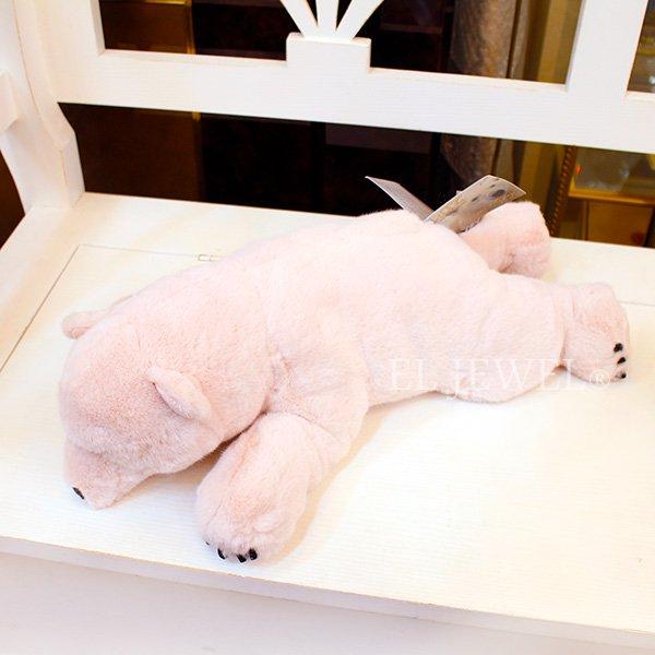 【即納可!】アメリカ『DitzDesign』ピンクくまぬいぐるみ・リラックスポーラーベア(W45cm)