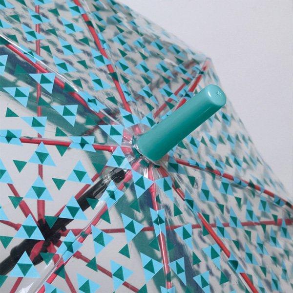 【即納可!】ハッピークリアドームアンブレラ「ネイチャー」傘(φ840×H86cm)