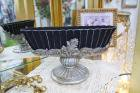 <b>【入荷未定】</b>【フラワーベース】ロココ調カップ(花器)「Greece」ブラック