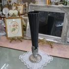 <b>【入荷未定】</b>【フラワーベース】ロココ調カップ(花器)「Greece」ブラック (H48cm)